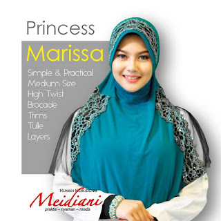 Jilbab Medium PRINCESS MARISSA