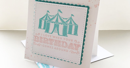 Stampin' Up!® Cupcakes and Carousels deel 4