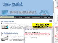 Cara Mengganti Warna Template Blog Dengan Metode Elemen