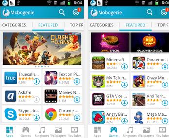 Магазин андроид приложений mobogenie запускает новую версию 2. 1.