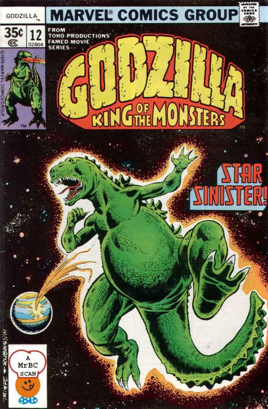 Godzilla (1977) issue 12 - Page 1