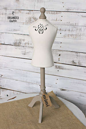 Upcycled Thrift Shop Jewelry Mannequin