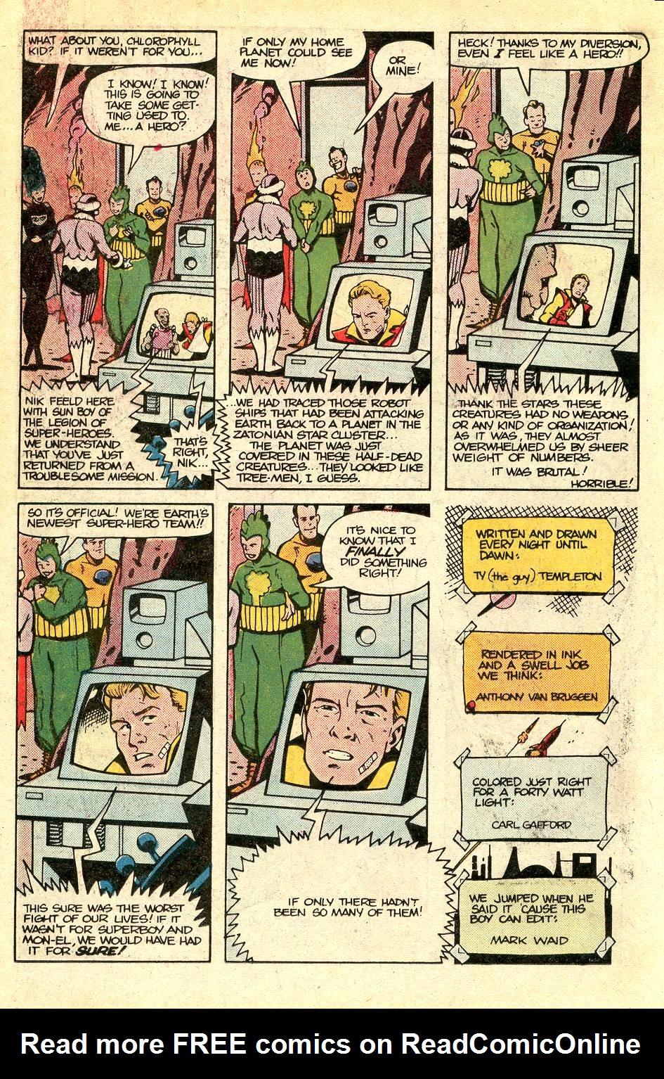 Read online Secret Origins (1986) comic -  Issue #37 - 22