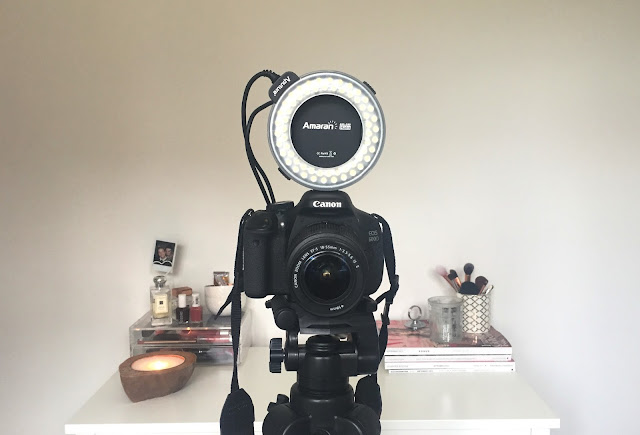 youtube new youtubers youtuber beginner's guide to making videos filming camera canon 600d lighting light alaman halo light amazon velbon df-61 tripod background imovie software film top tips blog blogger bloggers bbloggers lbloggers twitter kirstie pickering subscribe