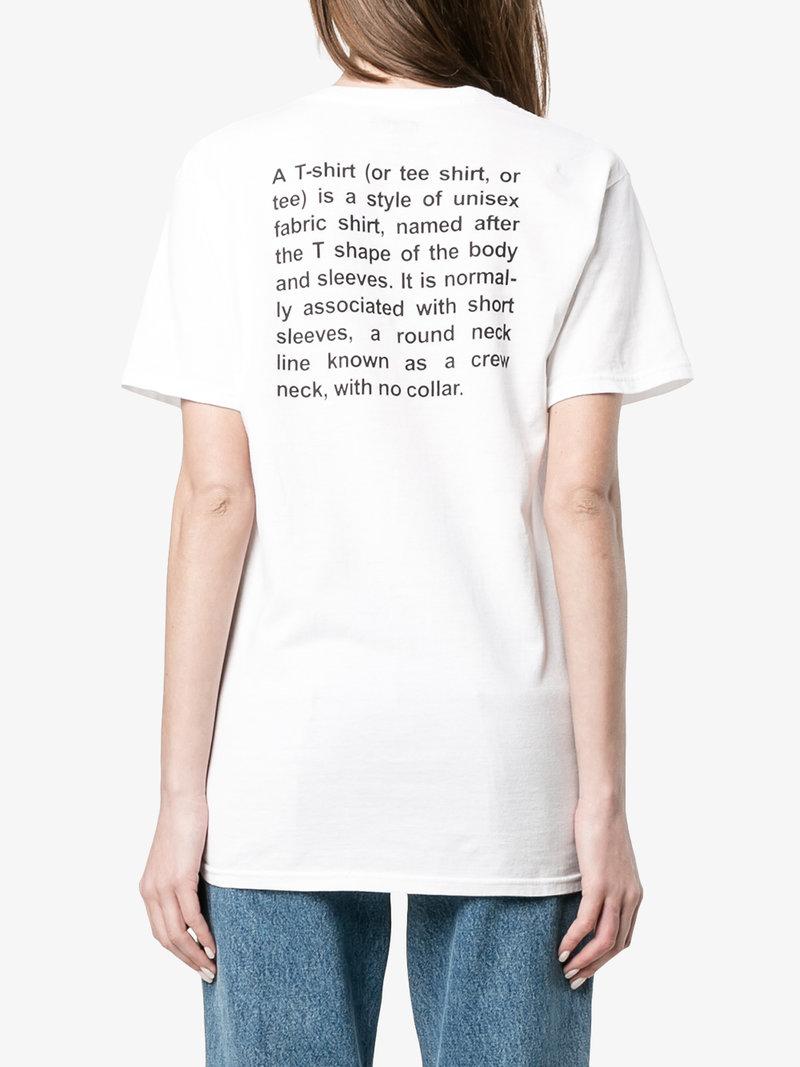 The T-Shirt | Fashion