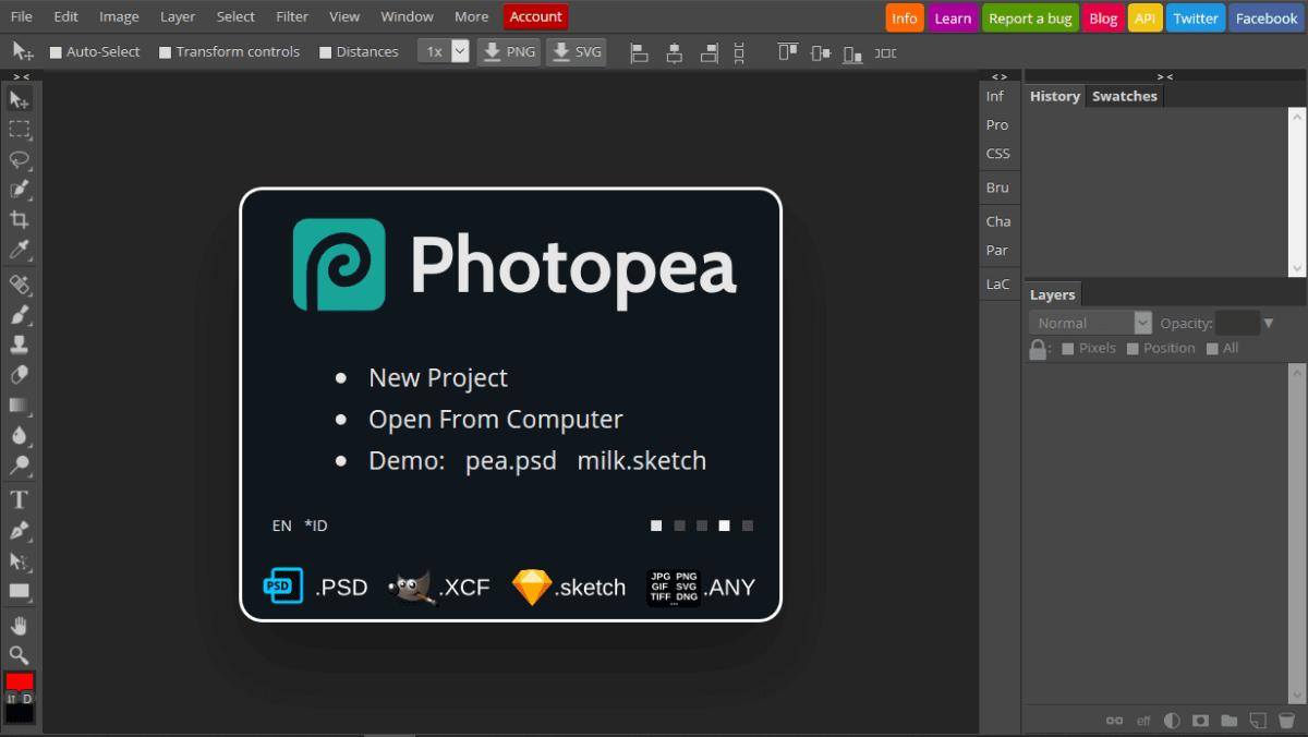 Cara Menggunakan Mockup - Photopea