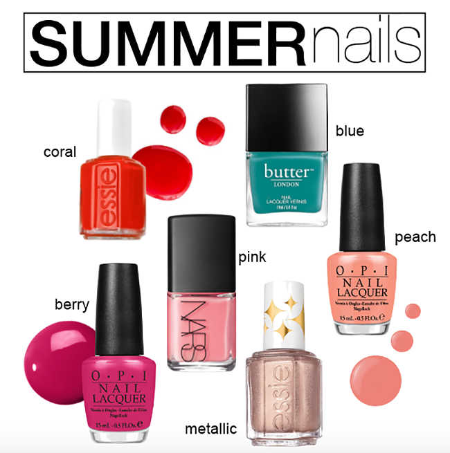 Hot Summer Nail Shades