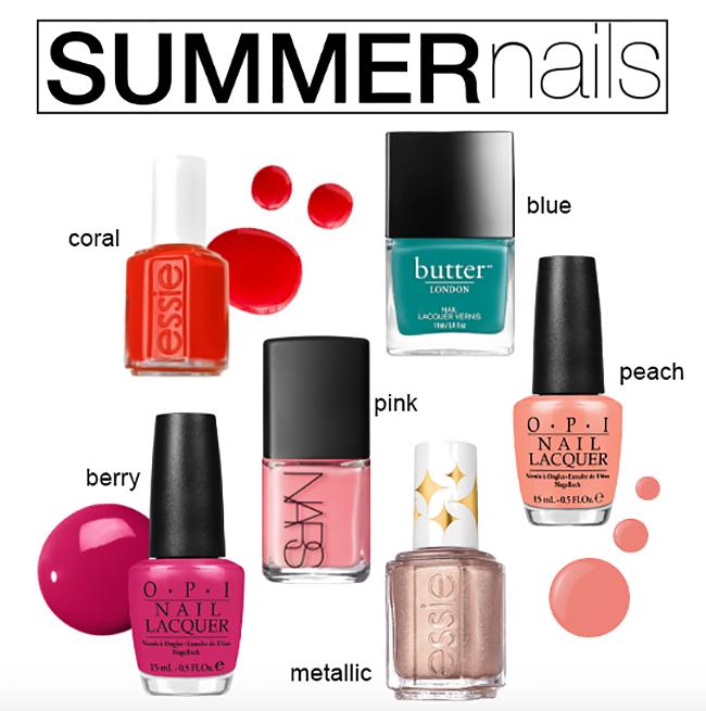 Hot Summer Nail Shades