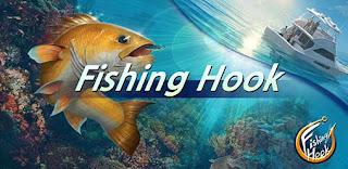 5. Fishing Hook (Harga: Gratis dengan pembelian dalam aplikasi)