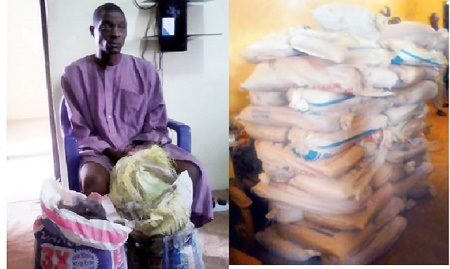 60-year-old Monarch Arrested by NDLEA with 12kg Cannabis in Nasarawa (Photo)