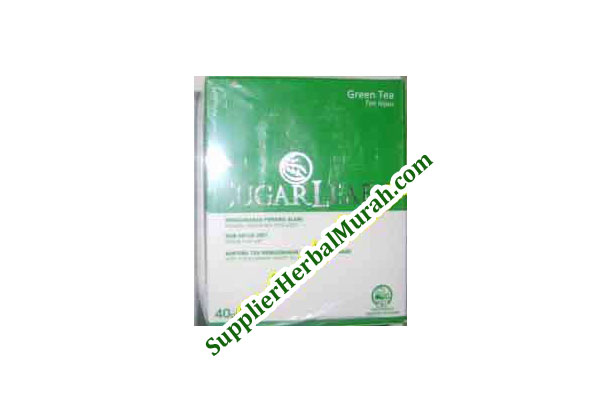 Sugarleaf Green Tea (dengan Pemanis Stevia)