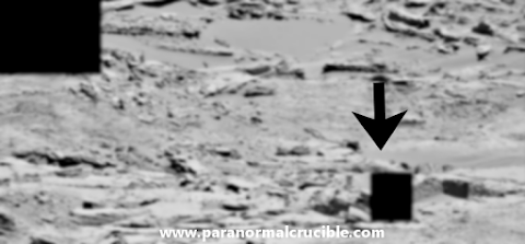 Possible Ancient Ruins Found On Mars