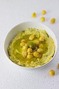 chickpeas garbanzo kabuli chana chutney garlic vegan mediterranean