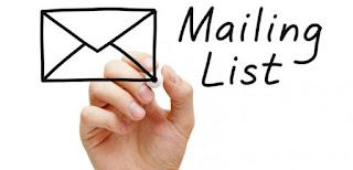 mailing list صورة قوائم بريدية