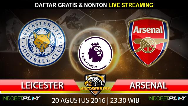 Prediksi Leicester vs Arsenal 20 Agustus 2016 (Liga Inggris)