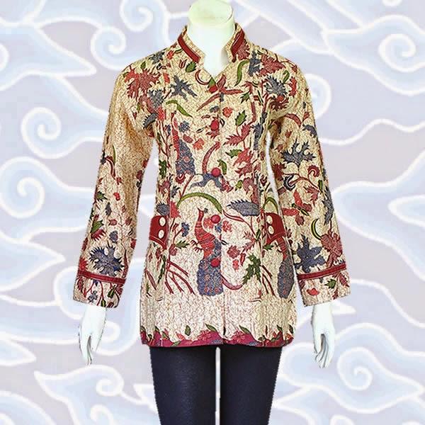 Model Blus Batik Solo