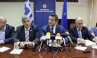 Ανένδοτο για τη συμφωνία των Πρεσπών ξεκινούν Τζιτζικώστας, Πατούλης και δήμαρχοι της Μακεδονίας
