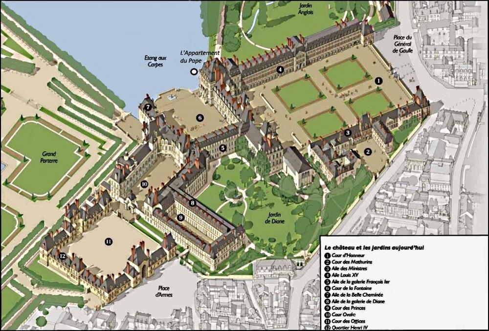 A Memory Less Ephemeral Chateau De Fontainebleau