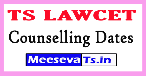 Telangana LAWCET Counselling Dates 2017