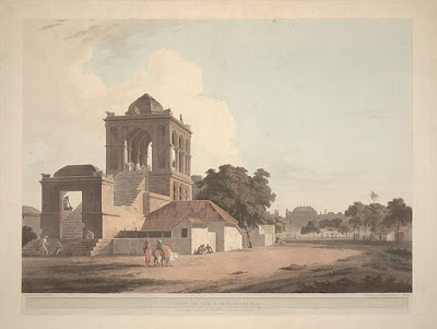 Madurai Fort by Thomas Daniell