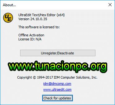 IDM UltraEdit Pro Final Imagen