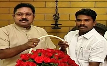 AIADMK MLA Prabhu for kallakurichi constituency meets TTV Dinakaran suddenly| #TTVDhinakaran #AIADMK