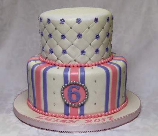 Confectionary Designs Girls Birthday Cake