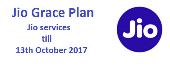 Jio Grace Plan