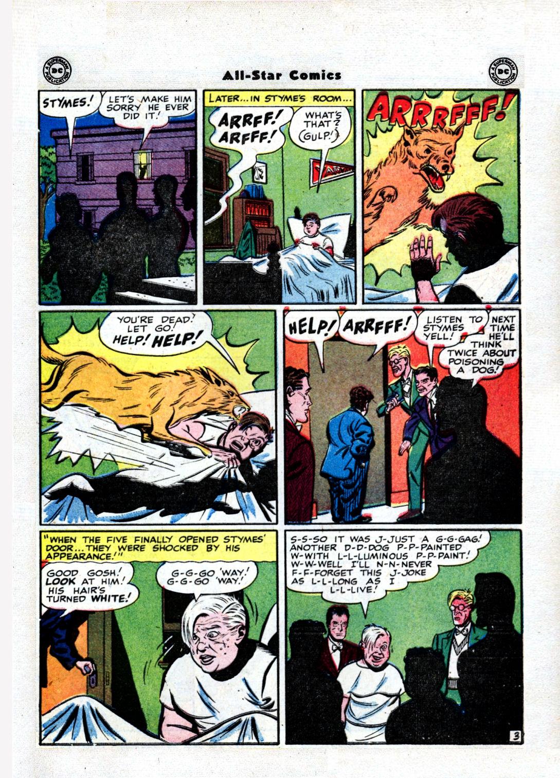 Read online All-Star Comics comic -  Issue #36 - 45