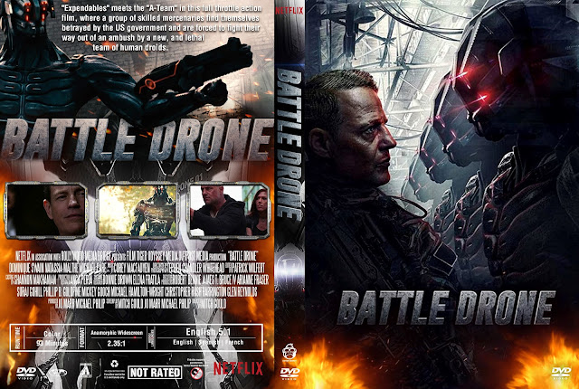 Battle Drone DVD Cover