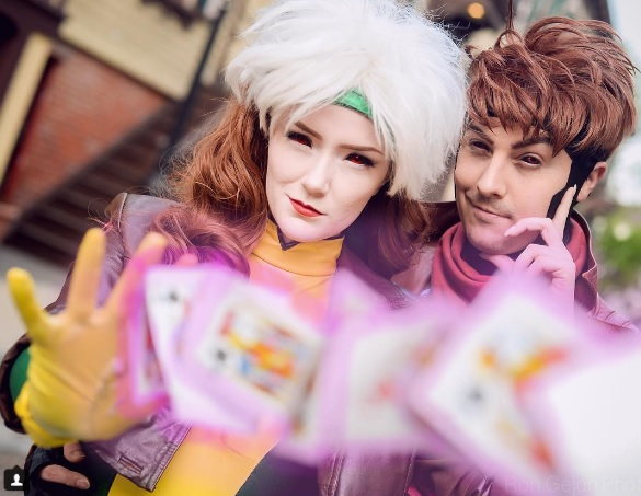 23 X-Men Cosplays You'll Love! Xmen Rogue Gambit Cosplayer Marvel Comics