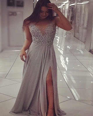 Elegant long dresses that are fashionable