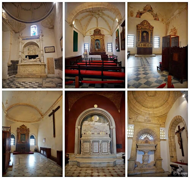 capillas catedral de santo domingo