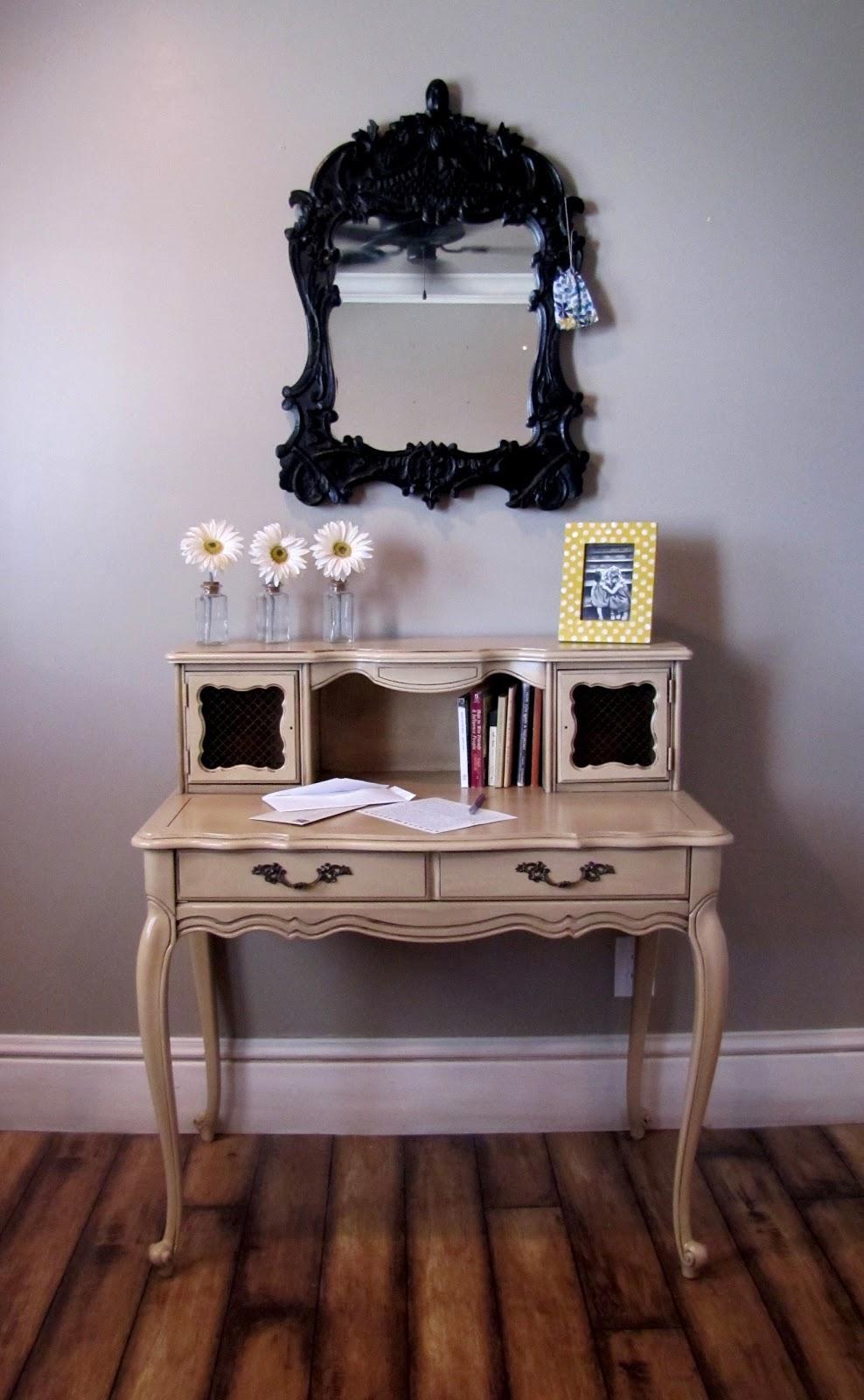 Dusty Gem Decor Elegant Secretary Desk