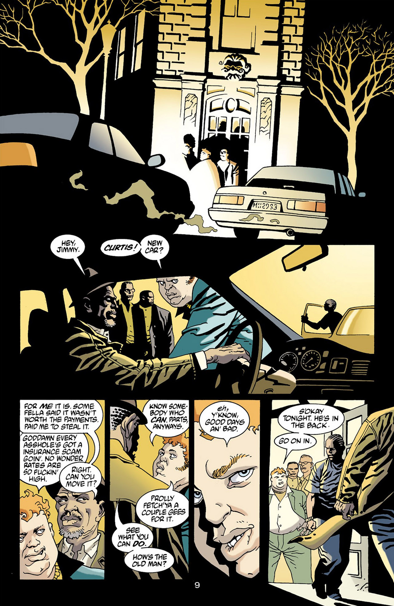 Read online 100 Bullets comic -  Issue #16 - 10