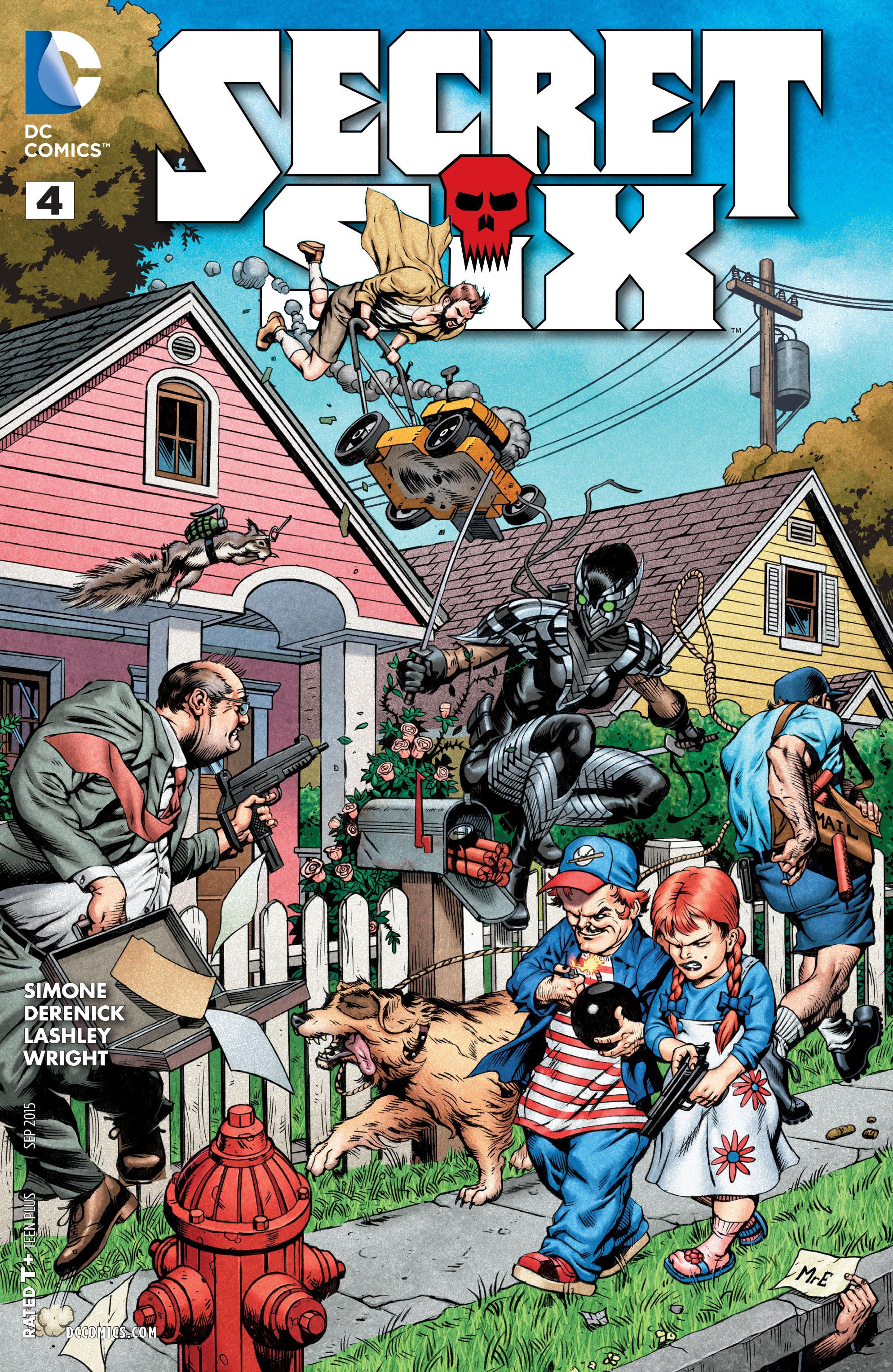 Read online Secret Six (2015) comic -  Issue #4 - 1
