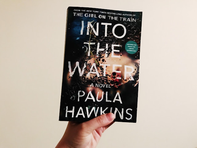 Into the Water, Booksparks, book review, SRC17, Paula Hawkins