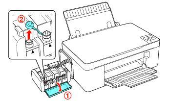 Como llenar los tanques de tinta en impresoras Epson L200