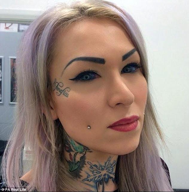 Έκανε τατουάζ στα μάτια και έκοψε τη γλώσσα της στη μέση για να μοιάζει με Φίδι. Δείτε ΠΩΣ κατάντησε αυτή η όμορφη κοπελίτσα! Έκανε τατουάζ στα μάτια και έκοψε τη γλώσσα της στη μέση για να μοιάζει με Φίδι. Δείτε ΠΩΣ κατάντησε αυτή η όμορφη κοπελίτσα! 4