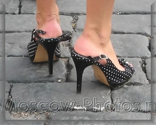 Black Summer Casual Stilettos