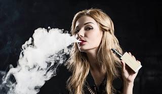 cara membuat efek asap rokok berwarna