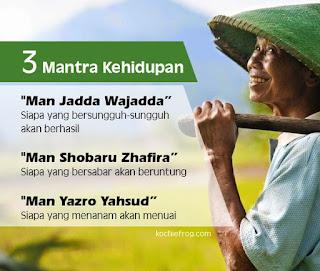 3 Mantra Kehidupan Islam