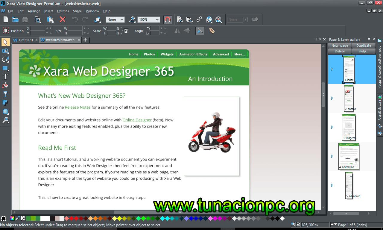 Xara Web Designer 365 Premium Imagen