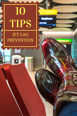 Travel the World: 10 tips for jet lag prevention when traveling internationally.