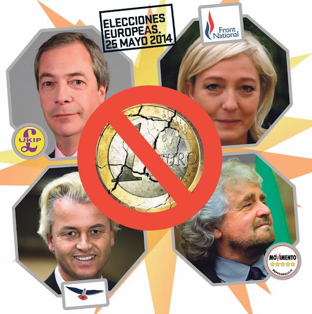 Resultado de imagen de Que Le Pen gane significa el primer paso para la disolución del Euro