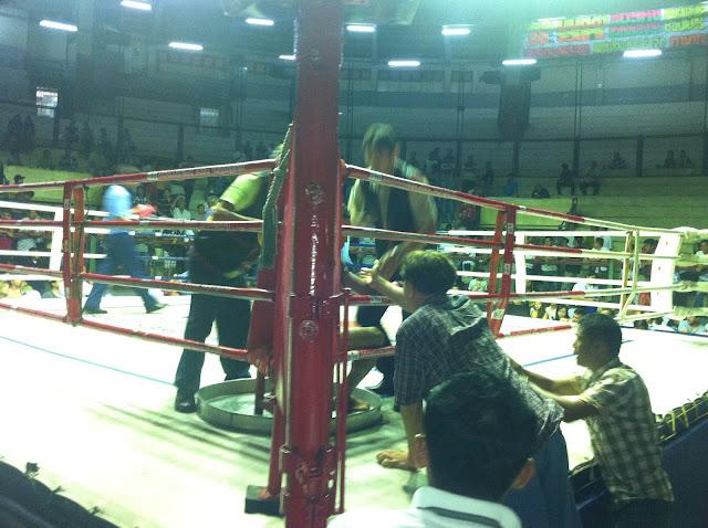 Entrenador y tensión en el combate