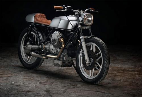 Moto Guzzi V50 độ Cafe Racer đơn giản hoài cổ