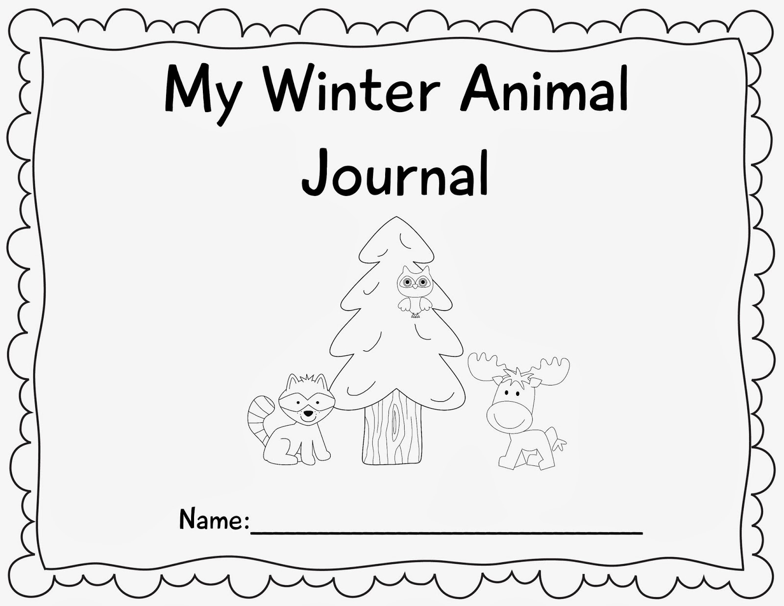 The Crazy Pre K Classroom Free 121 Page Winter Animal