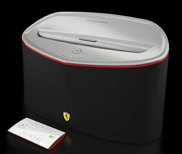 Scuderia Ferrari Headphones x Speaker Dock Collection by Logic3