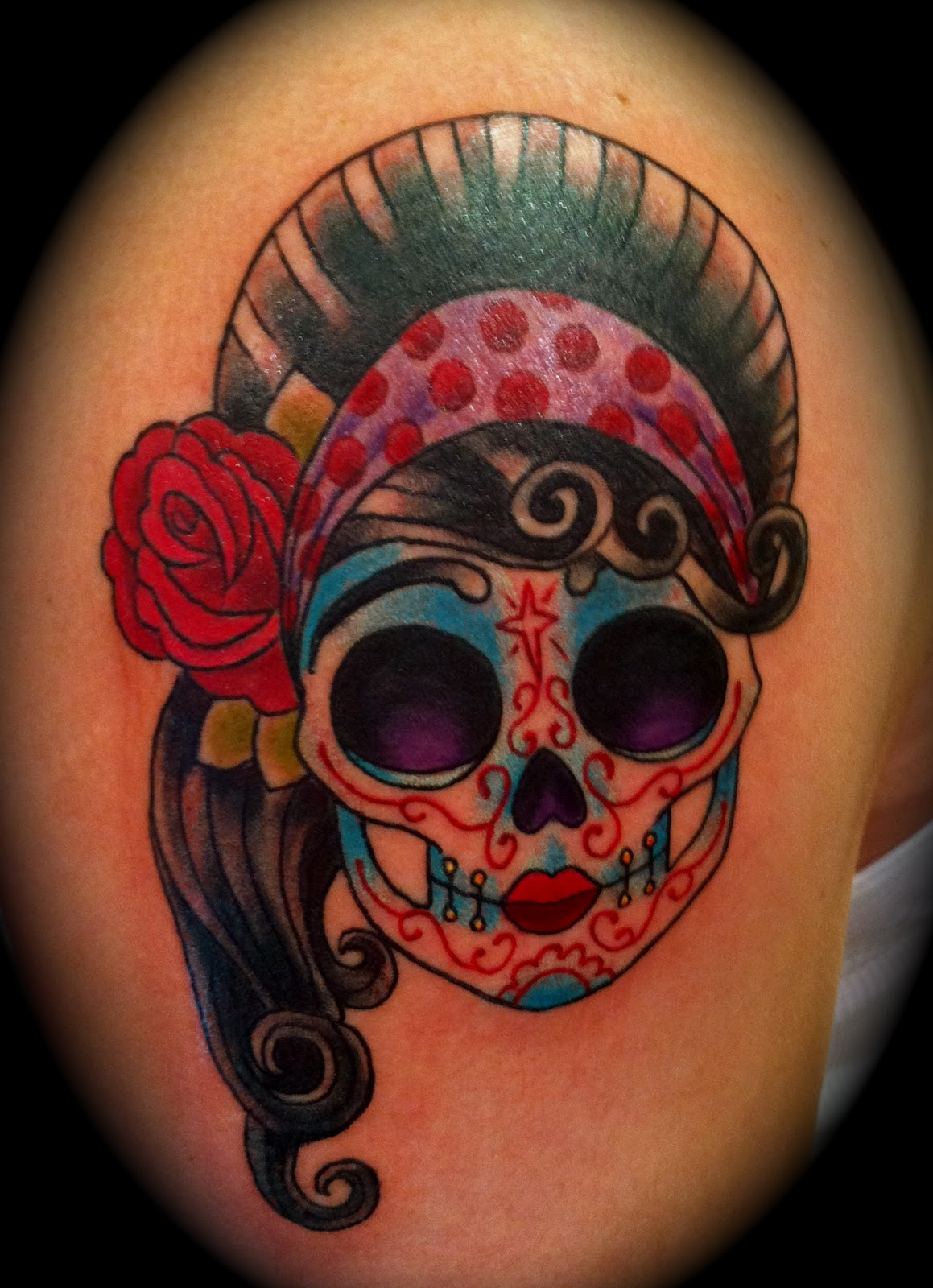 afrenchieforyourthoughts: skulls tattoos have meaning